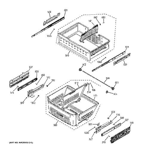 Amana Refrigerator Wiring Schematic