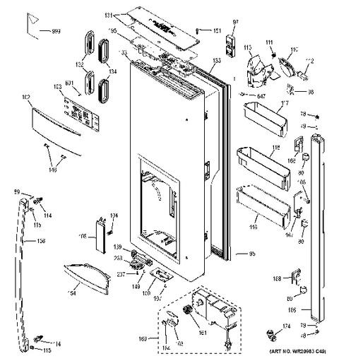 model search dfe28jskbss rh geapplianceparts com GE Side by Side Refrigerator GE Adora Refrigerator Water Filter