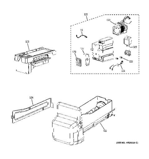 ge ice maker wiring diagram ge image wiring diagram ge profile ice maker wiring diagram jodebal com on ge ice maker wiring diagram