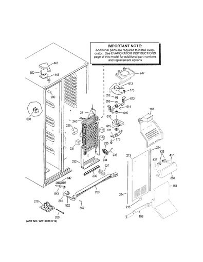 Ge Refrigerator Replacement Parts