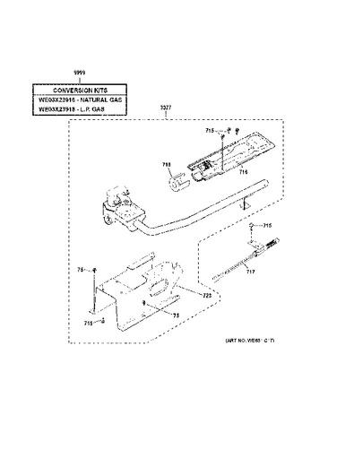 P on Ge Gas Dryer Parts Diagram