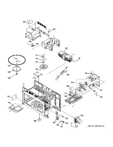 microwave ge appliances schematic