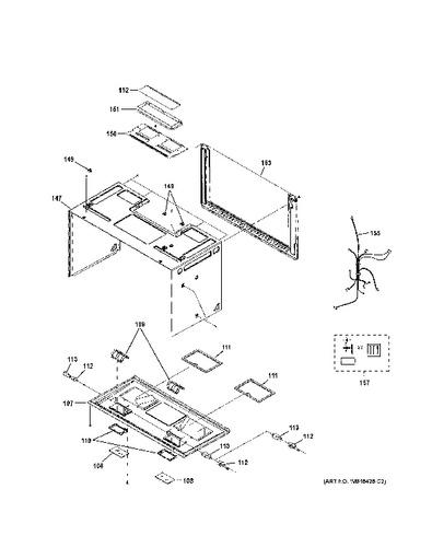 microwave ge appliances schematic
