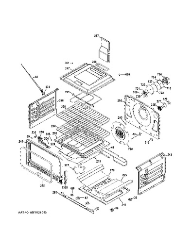Ge Oven Parts Diagram