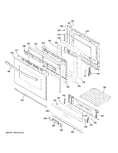 Ge Stove Electric Range Wiring Diagram
