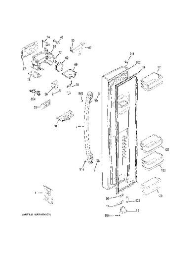 Amana Refrigerator Schematic Diagram