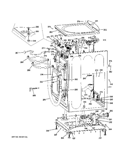 Wiring Diagram Ge Washer Gfwn1000lww