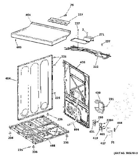 Diagram Dryer Electric Wiring Ge Gtdp490ed6ws