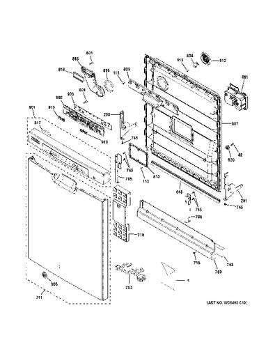 Dishwasher Parts Schematic Diagram. . Wiring Diagram on