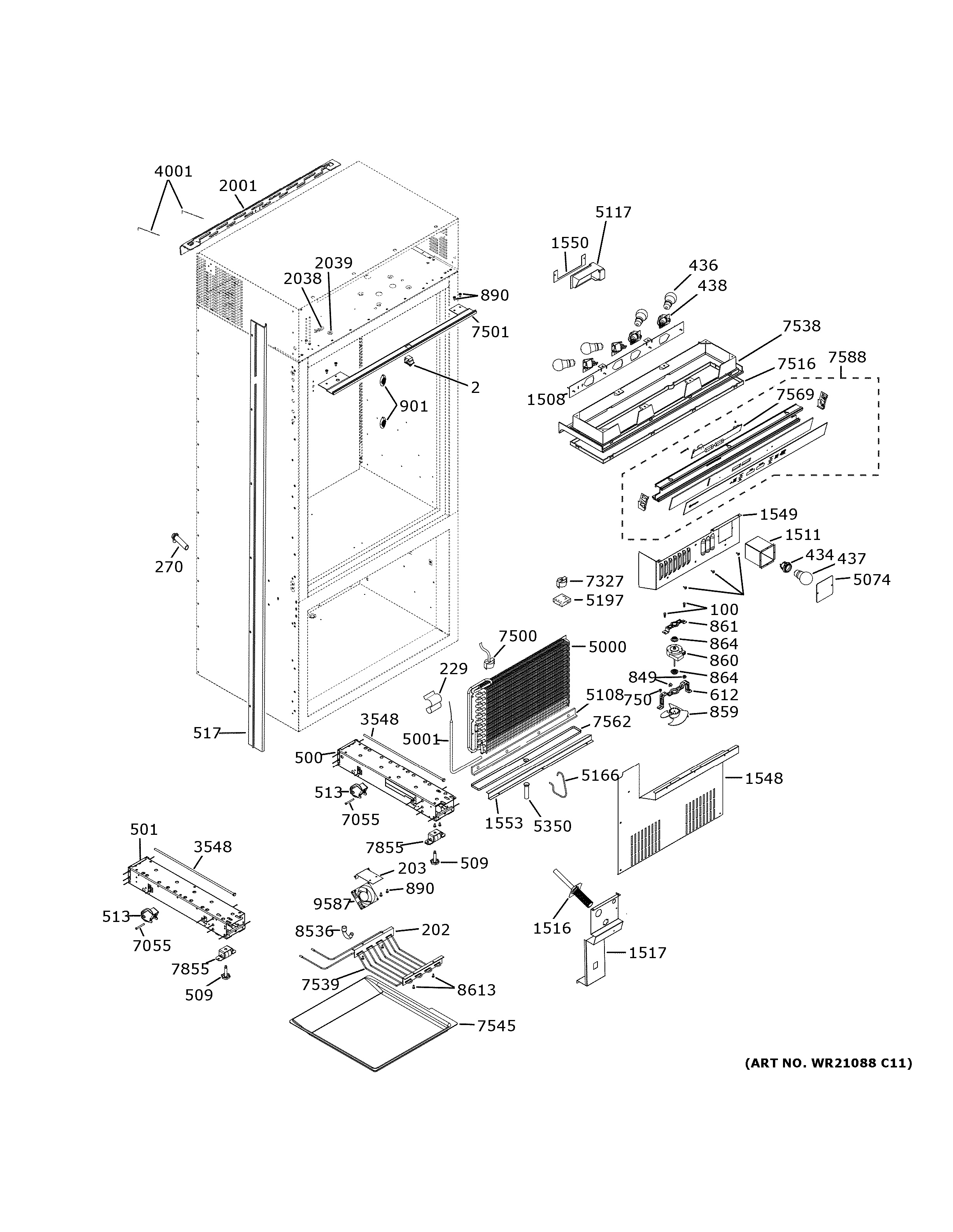 Assembly View For Controls  U0026 Components