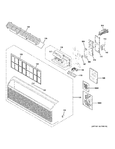 Model Search   AZ65H12DABW2   Ge Zoneline Wiring Diagram      GE Appliances Parts and Accessories